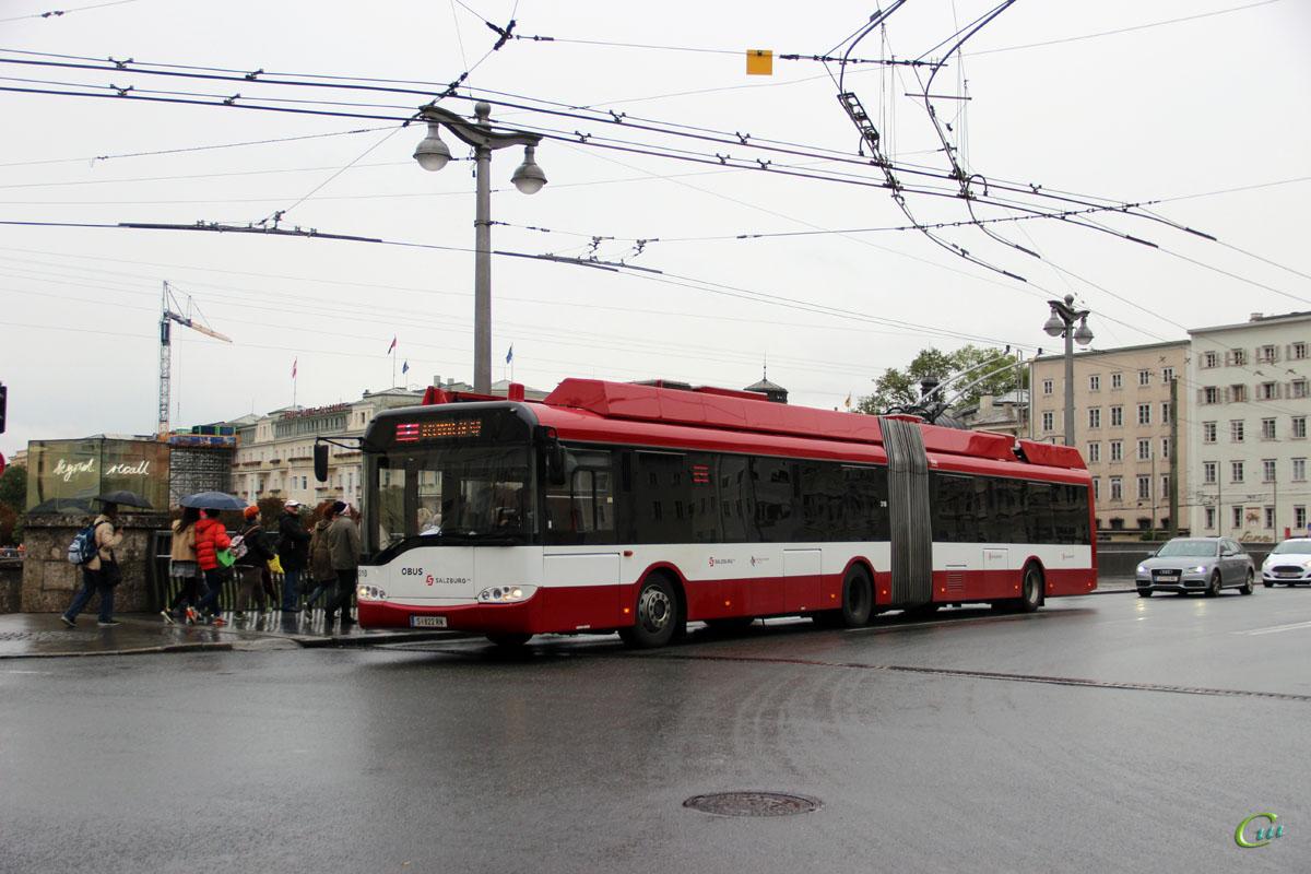 Зальцбург. Solaris Trollino 18 AC №318