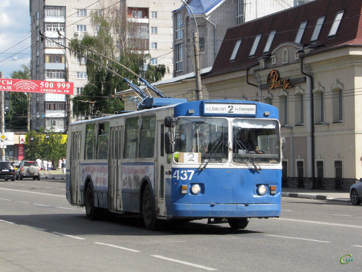 Иваново. ЗиУ-682Г00 №437