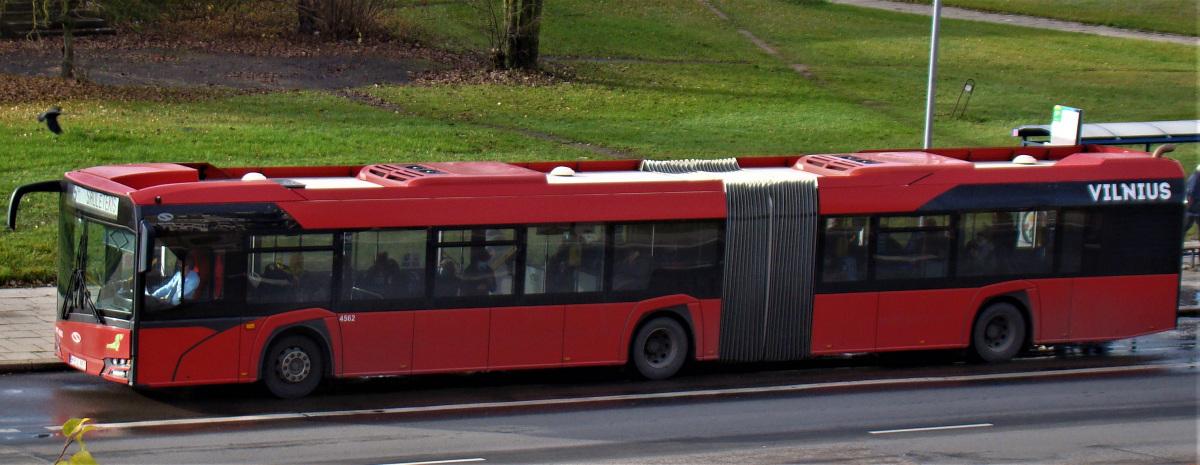 Вильнюс. Solaris Urbino IV 18 KPJ 851
