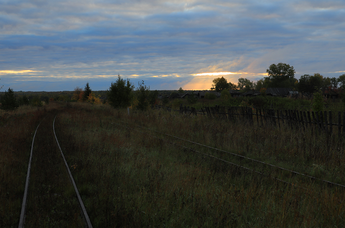 Алапаевск. Станция Калач, Алапаевская узкоколейная железная дорога