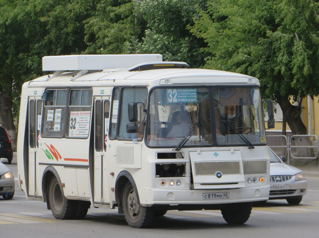 Курган. ПАЗ-32054 с819мн