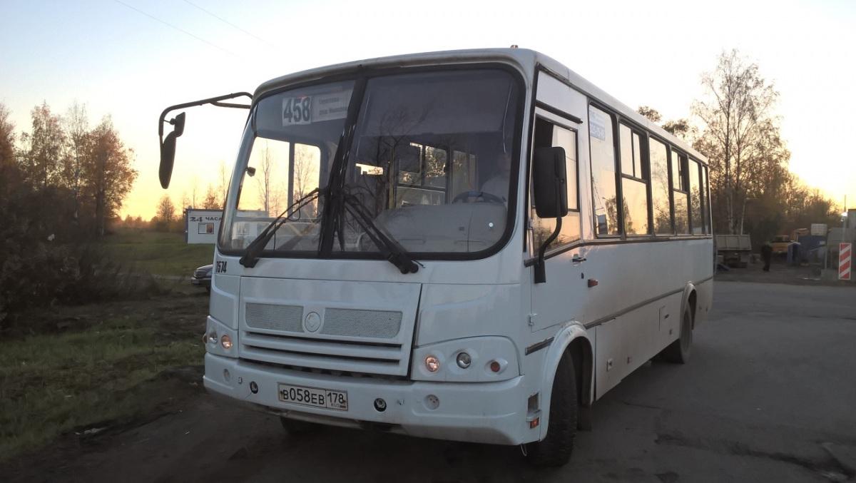 Санкт-Петербург. ПАЗ-320412 Вектор в058ев