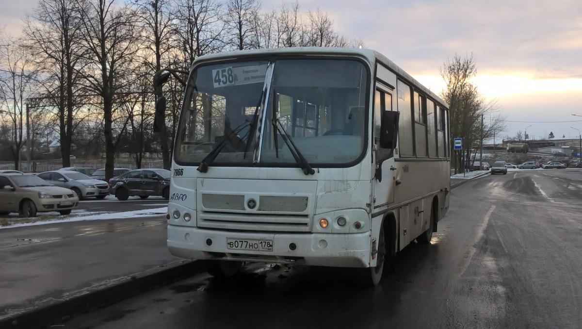 Санкт-Петербург. ПАЗ-320402-05 в077но