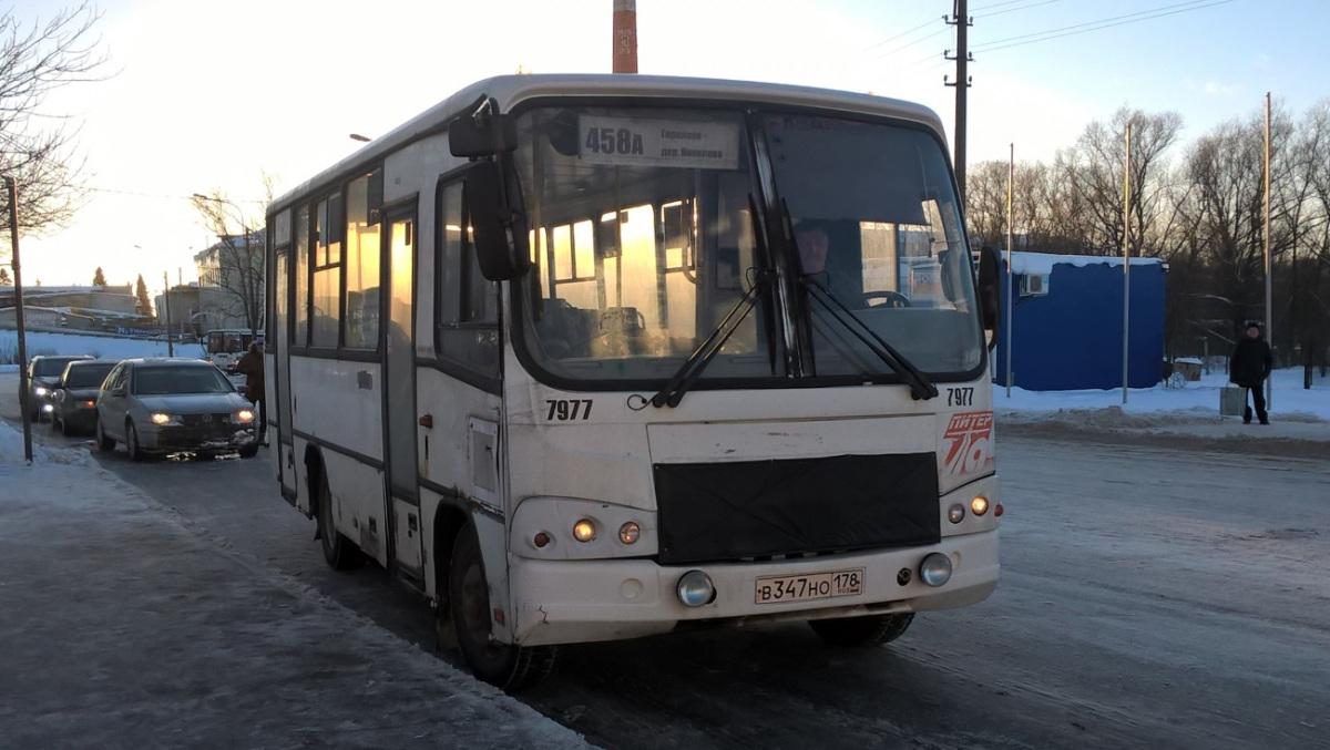 Санкт-Петербург. ПАЗ-320402-05 в347но