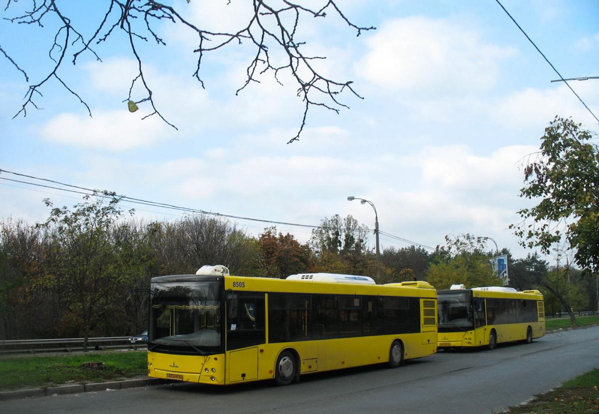 Киев. МАЗ-203.069 AA2419AA, МАЗ-203.069 AA2435AA