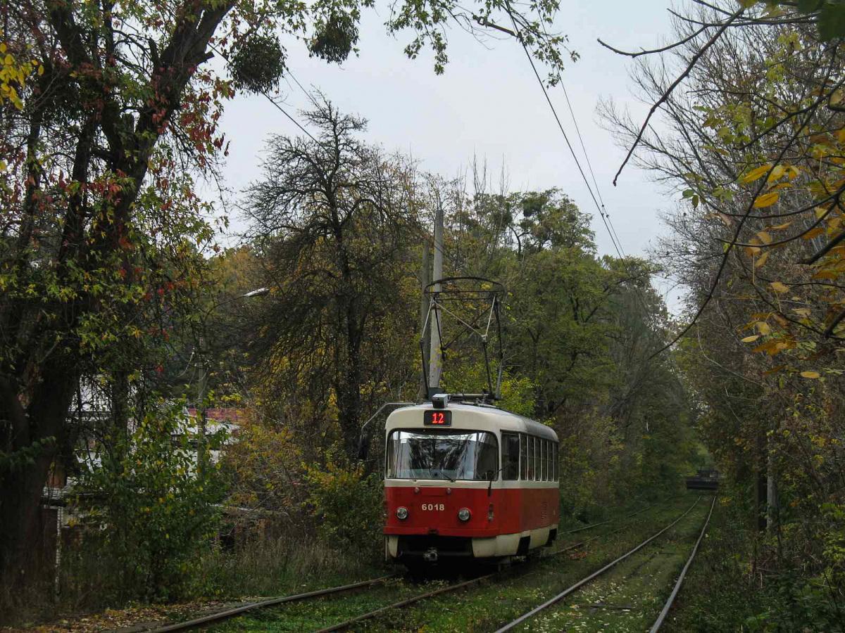 Киев. Tatra T3SUCS №6018