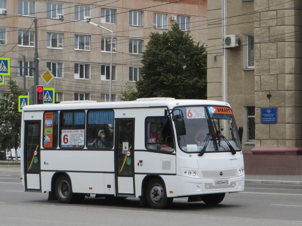 Курган. ПАЗ-320302-12 Вектор о822мм