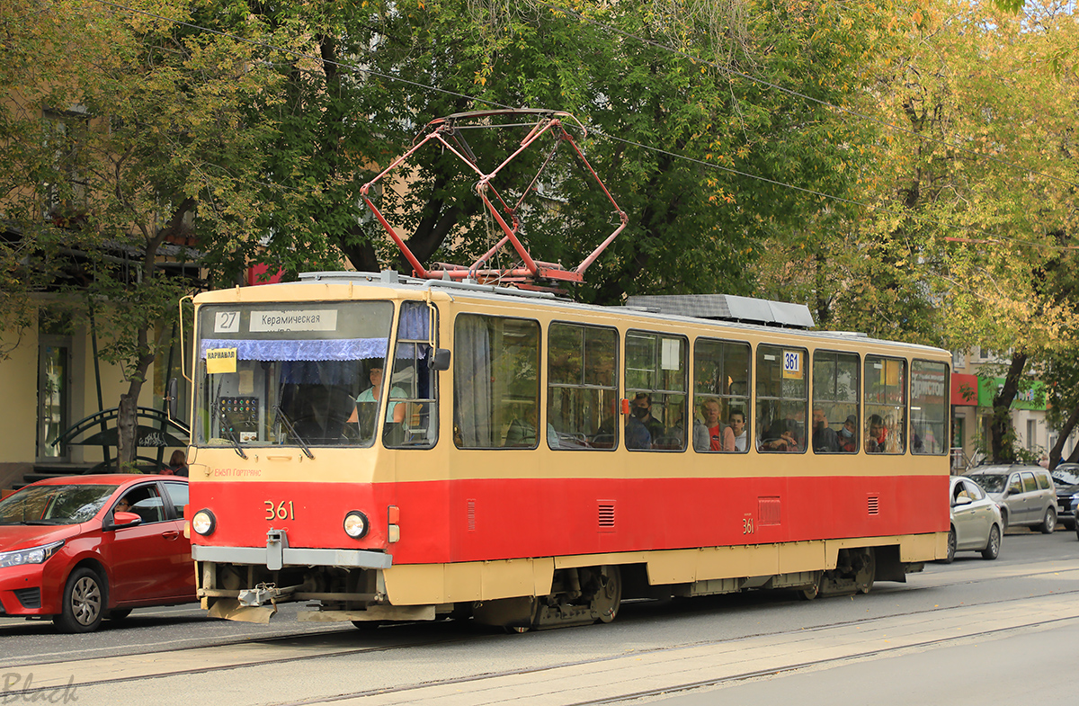 Екатеринбург. Tatra T6B5 (Tatra T3M) №361
