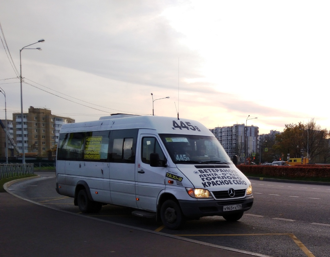 Санкт-Петербург. Луидор-2232 (Mercedes-Benz Sprinter) х965ух