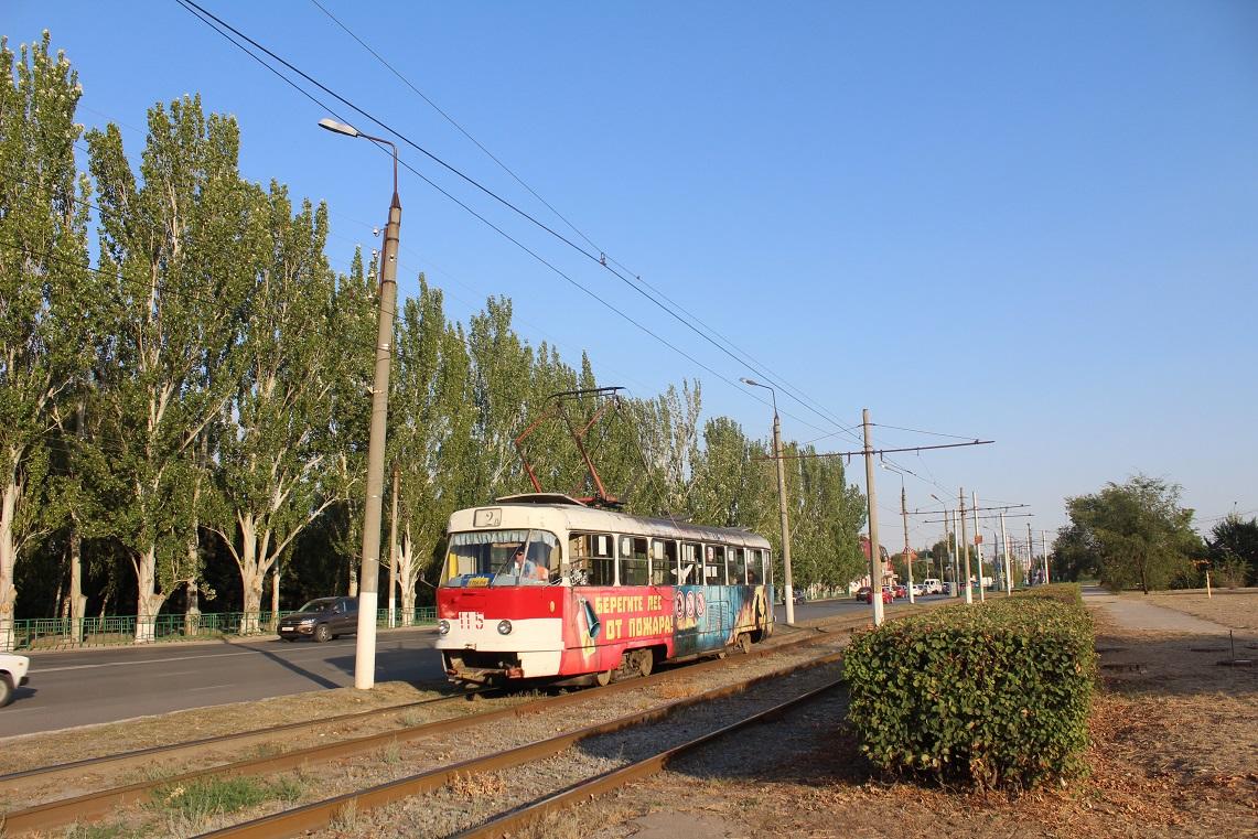 Волжский. Tatra T3SU №115