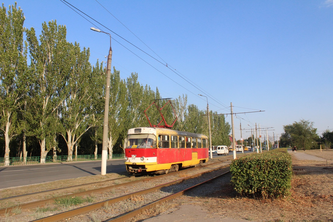 Волжский. Tatra T3SU №97