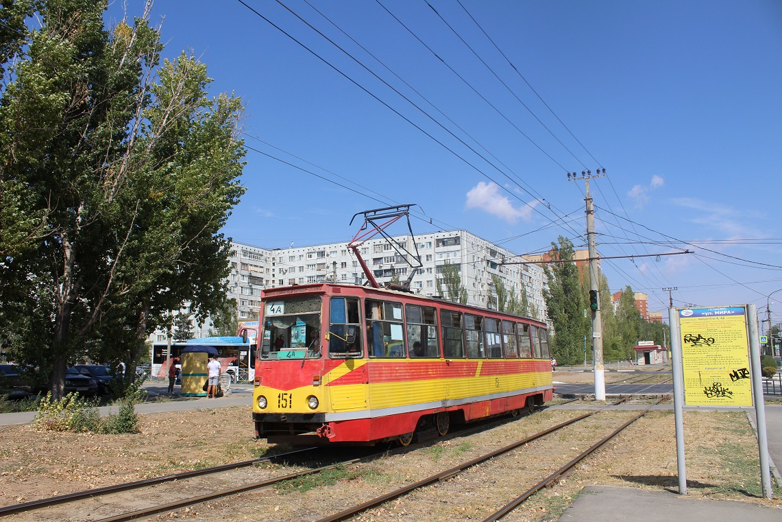 Волжский. 71-605А (КТМ-5А) №151