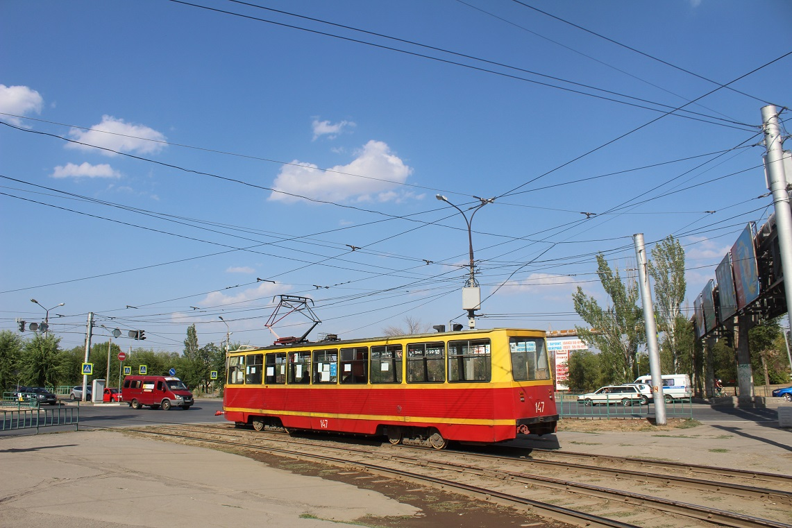 Волжский. 71-605А (КТМ-5А) №147