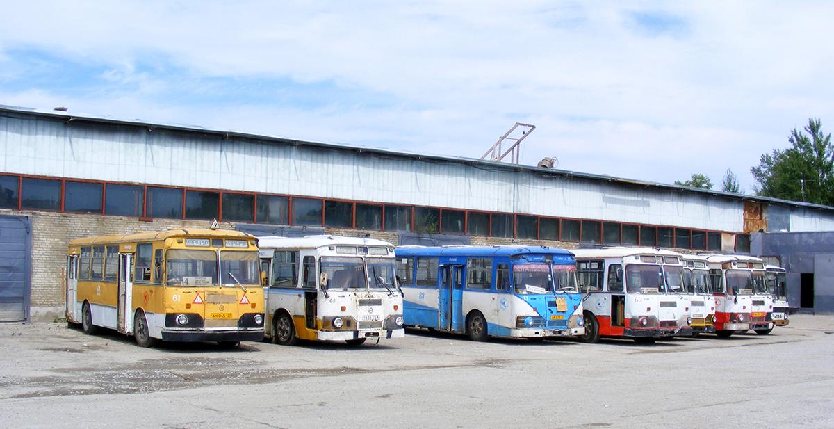 Амурск. ЛиАЗ-677М ам045, ЛиАЗ-677М 9627ХБА, ЛиАЗ-677М ам071, ЛиАЗ-677М 9636ХБА