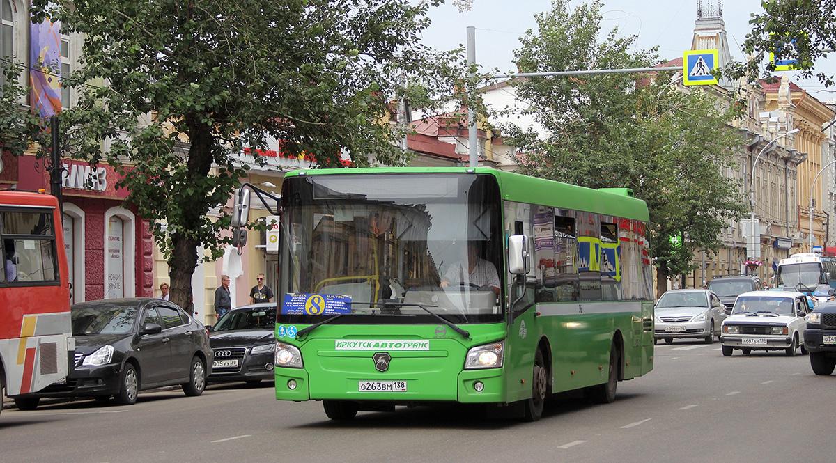 Иркутск. ЛиАЗ-4292.60 о263вм