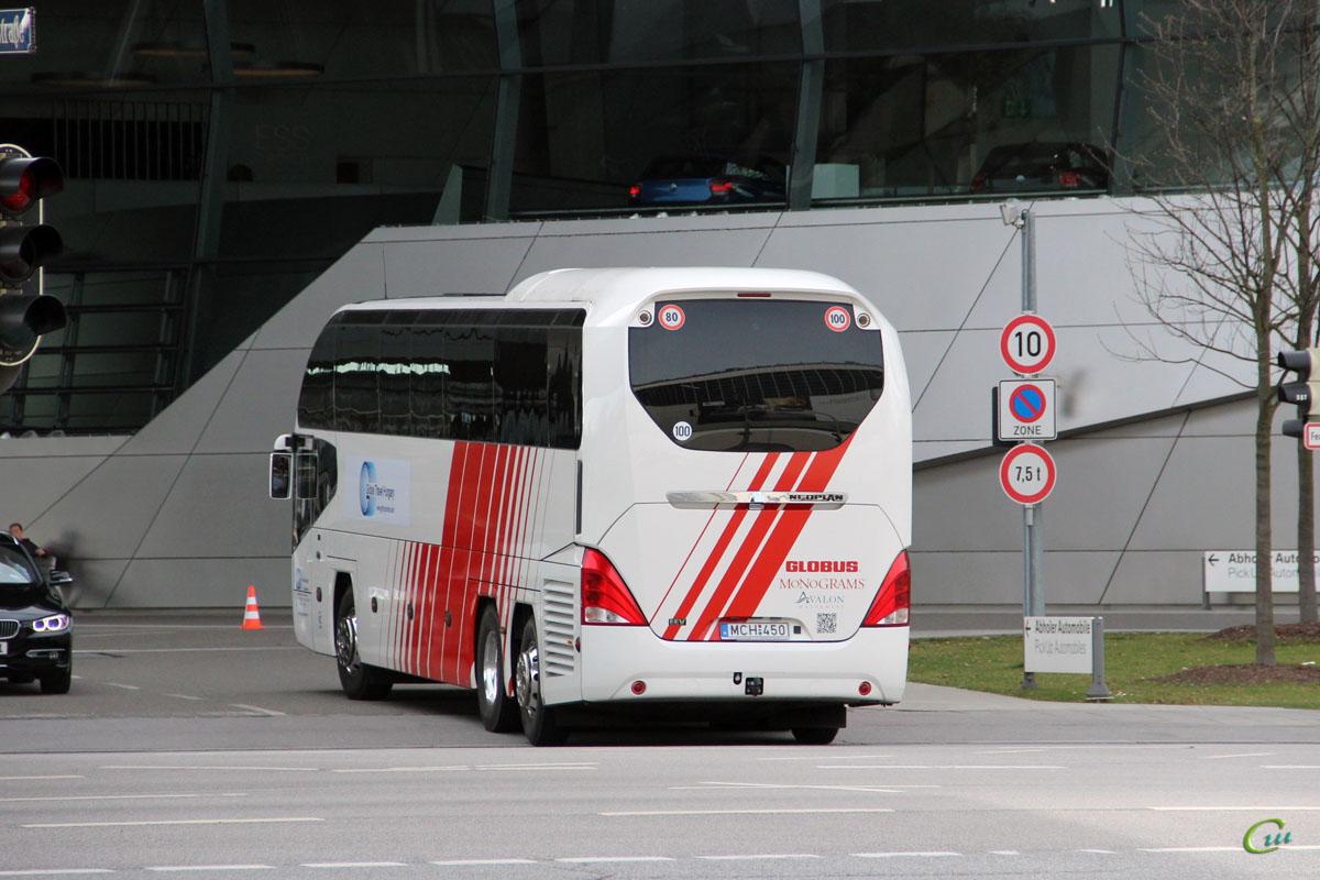 Мюнхен. Neoplan N1218HDL Cityliner MCH-450