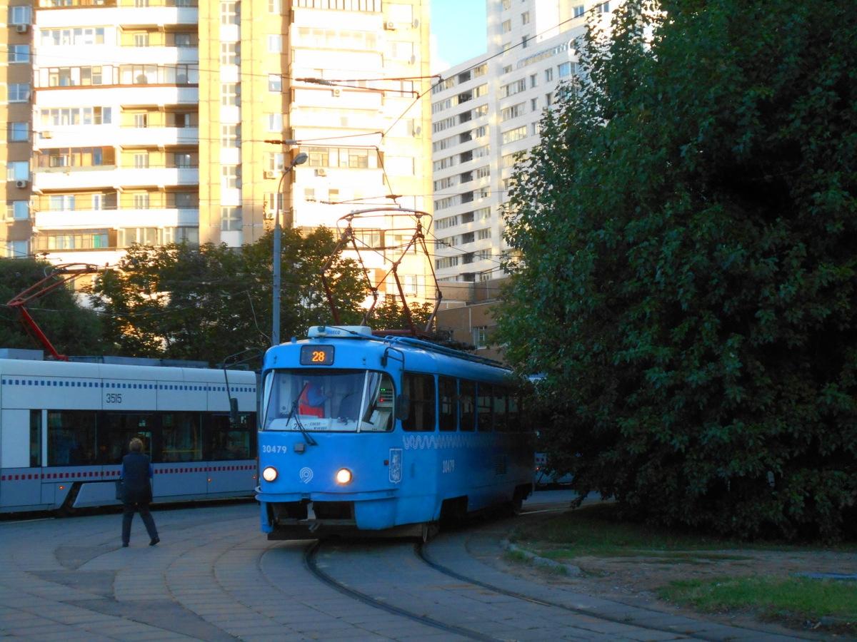 Москва. Tatra T3 (МТТА) №30479