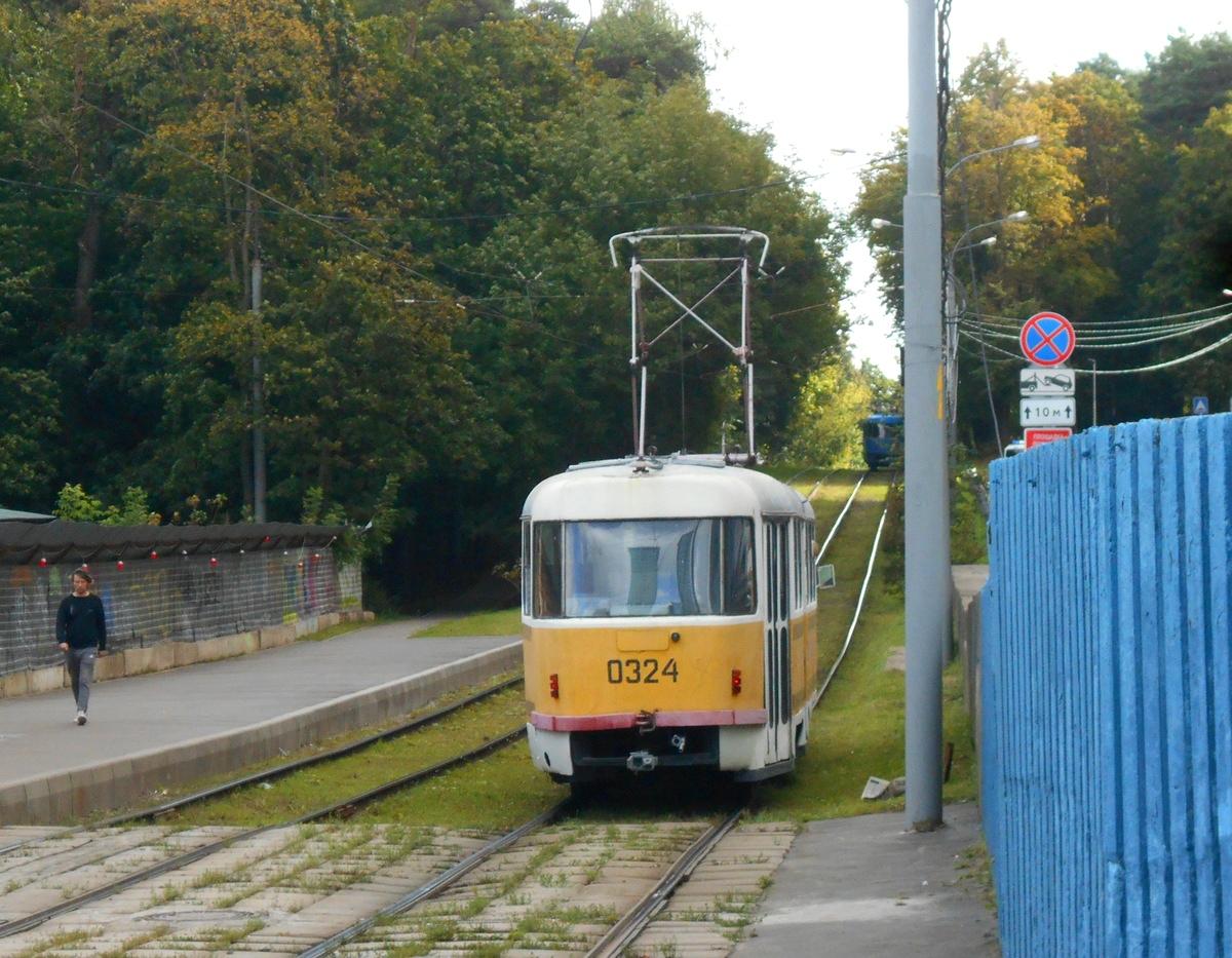 Москва. Tatra T3SU №0324