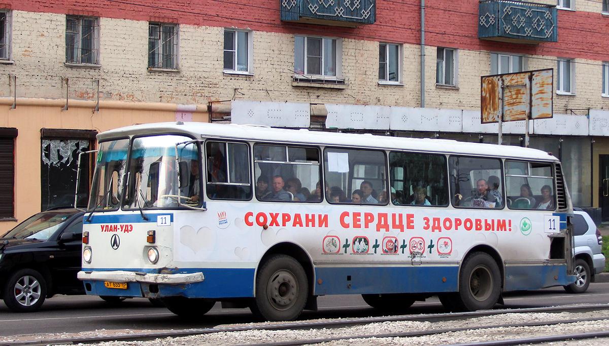 Улан-Удэ. ЛАЗ-695Н ат655