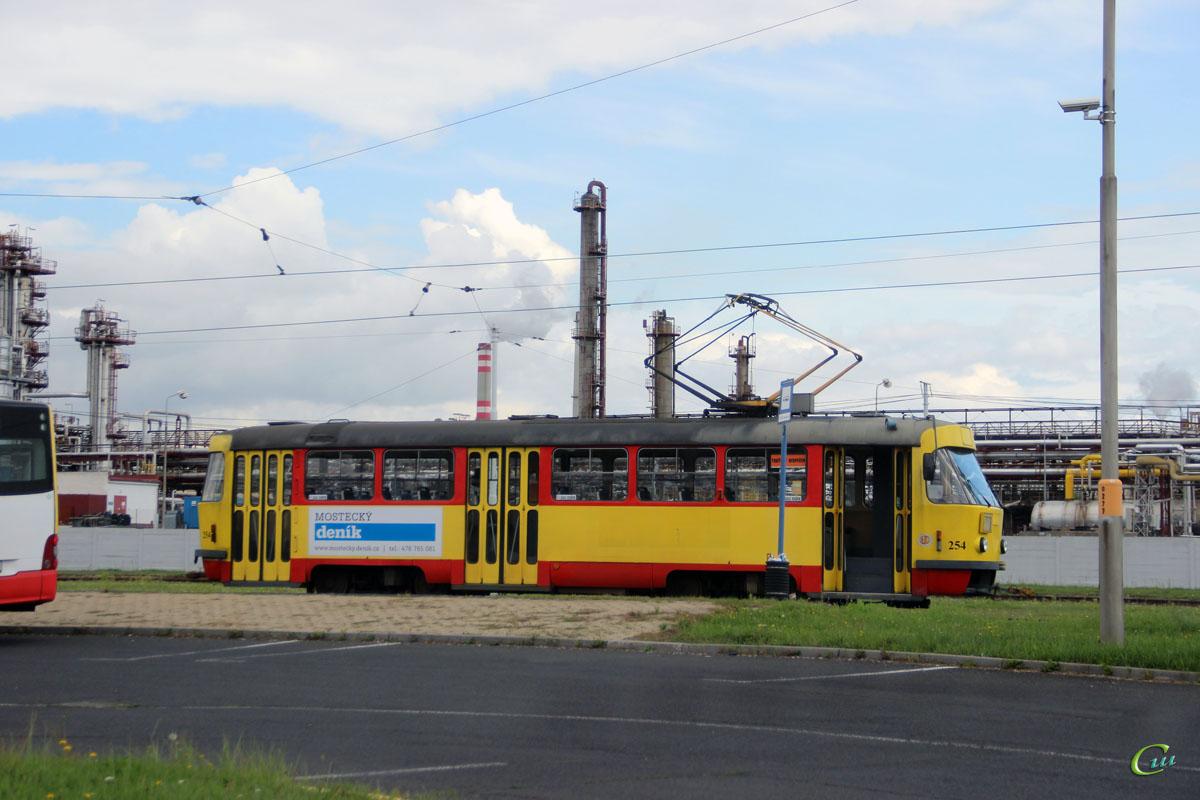 Мост. Tatra T3M.03 №254