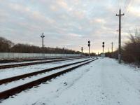 Челябинск. Станция Электростанция, чётная горловина