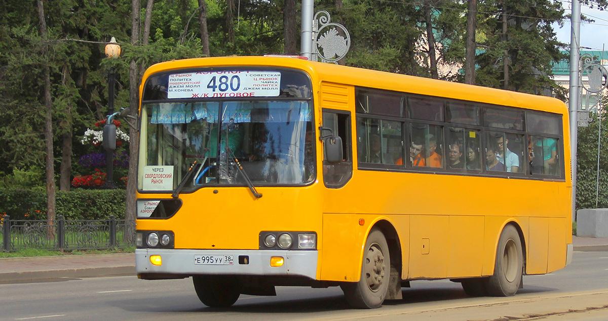 Иркутск. Hyundai Global 900 е995уу