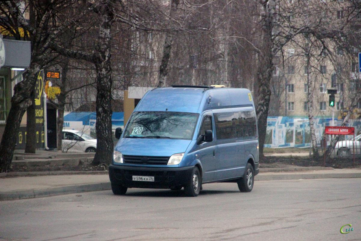 Ставрополь. LDV Maxus у596ка