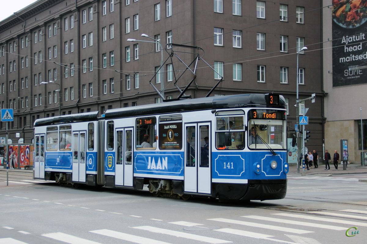 Таллин. Tatra KT4TMR №141