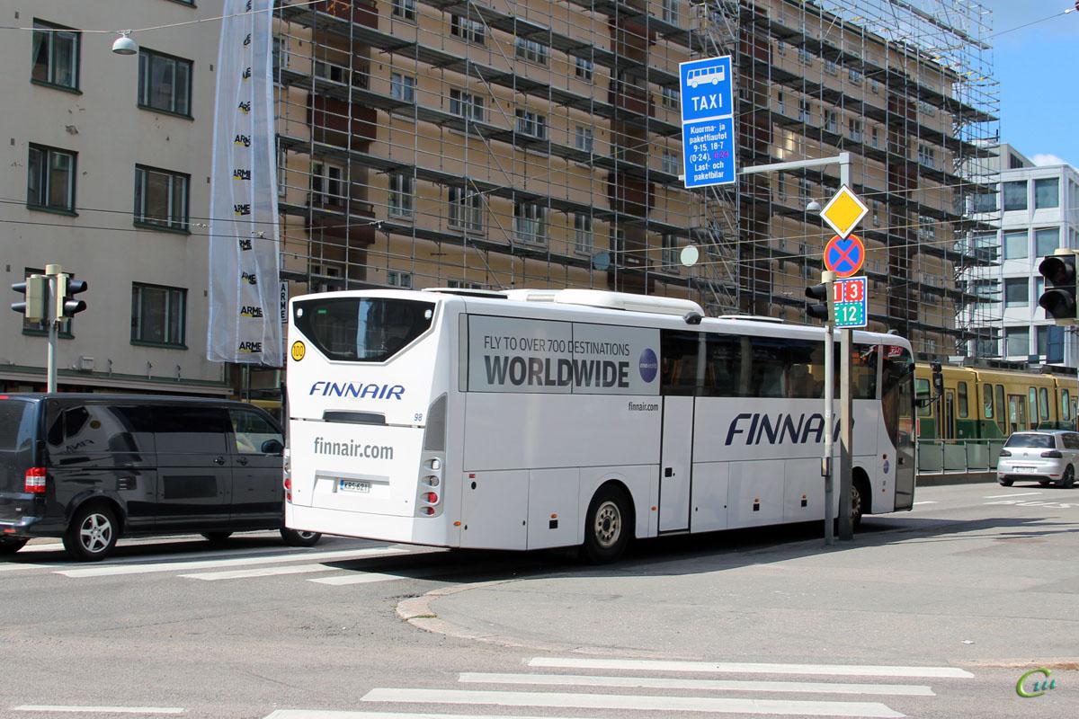 Хельсинки. Scania OmniExpress 340 KRS-621