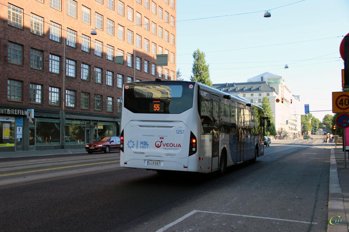 Хельсинки. Volvo 8900LE LLR-567