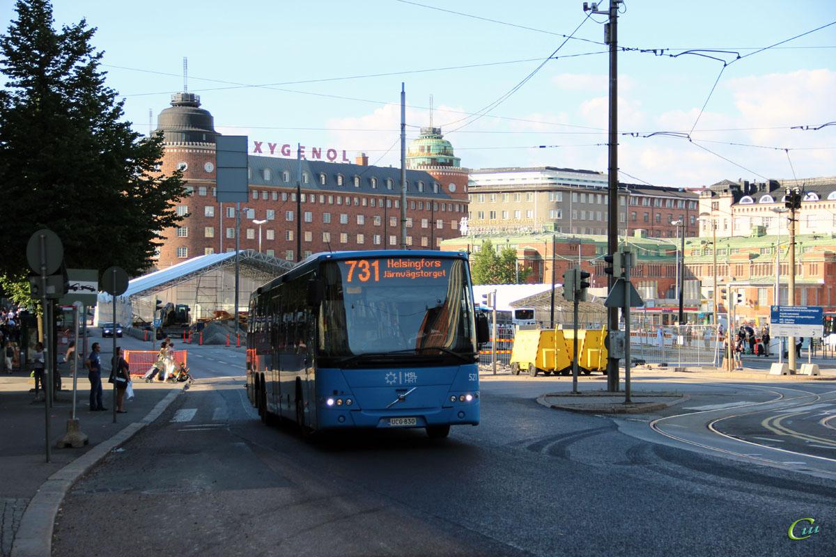 Хельсинки. Volvo 8700LE UCG-830