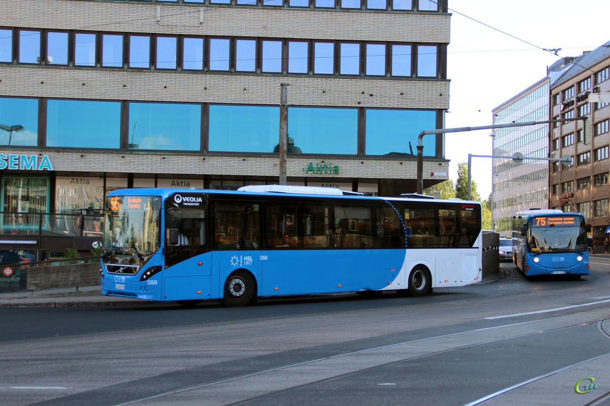 Хельсинки. Volvo 8900LE LLR-570