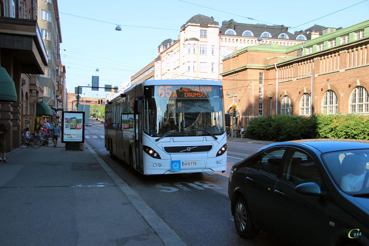 Хельсинки. Volvo 8500LE (Säffle 8500LE) UCG-772
