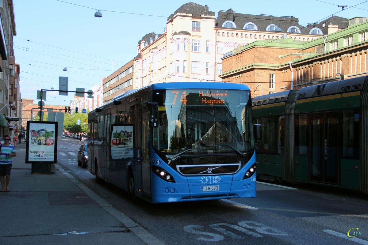 Хельсинки. Volvo 8900LE LLR-573