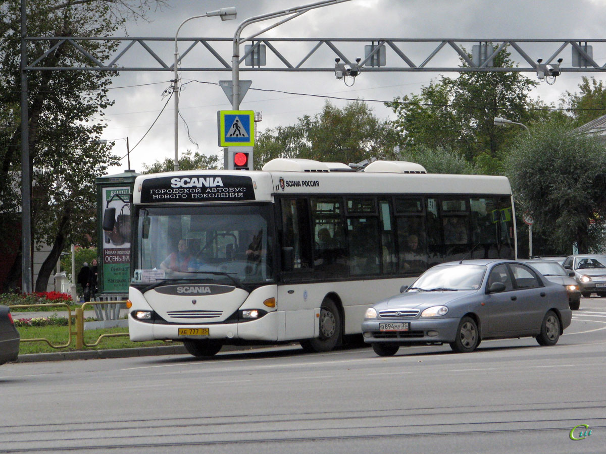 Череповец. Scania OmniLink CL94UB ае777
