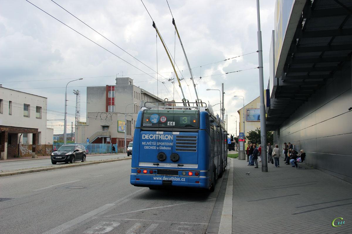 Ческе-Будеёвице. Škoda 25Tr Irisbus №64