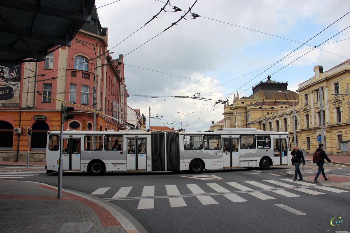 Ческе-Будеёвице. Škoda 15TrM №18