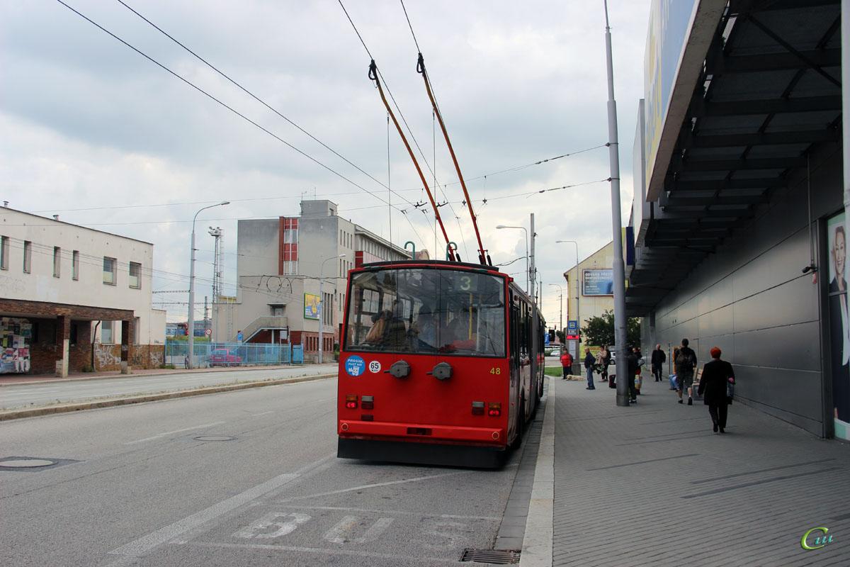 Ческе-Будеёвице. Škoda 15Tr13/7M №48