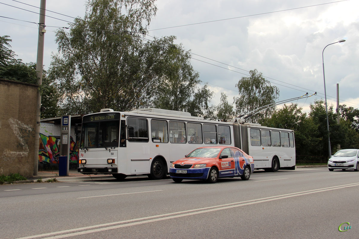 Ческе-Будеёвице. Škoda 15Tr13/7M №50