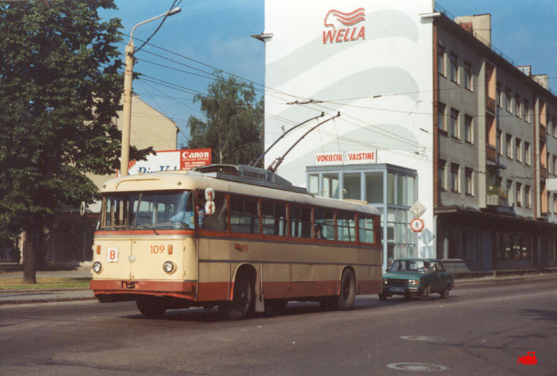 Каунас. Škoda 9Tr15 №109
