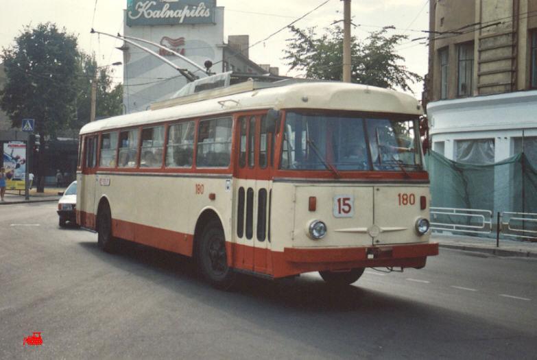 Каунас. Škoda 9Tr24 №180