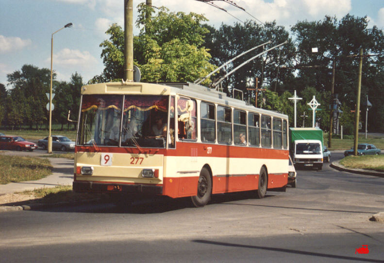 Каунас. Škoda 14Tr02/6 №277