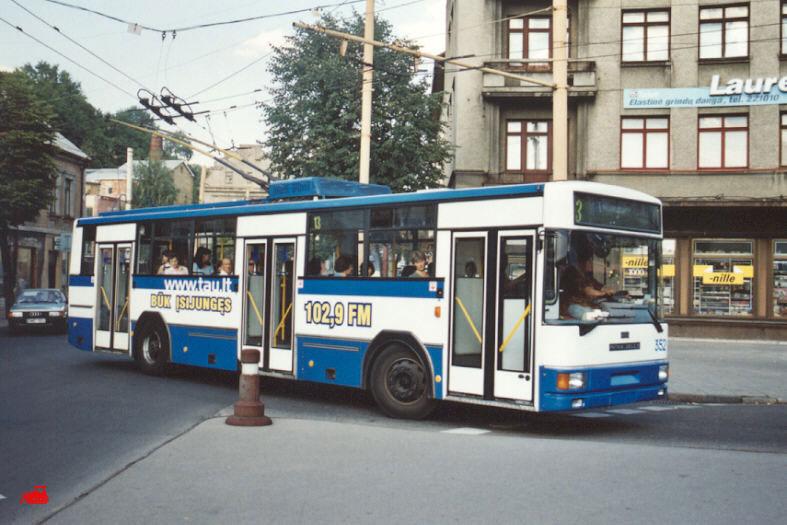 Каунас. Jelcz/PNTKM M120MTE №352