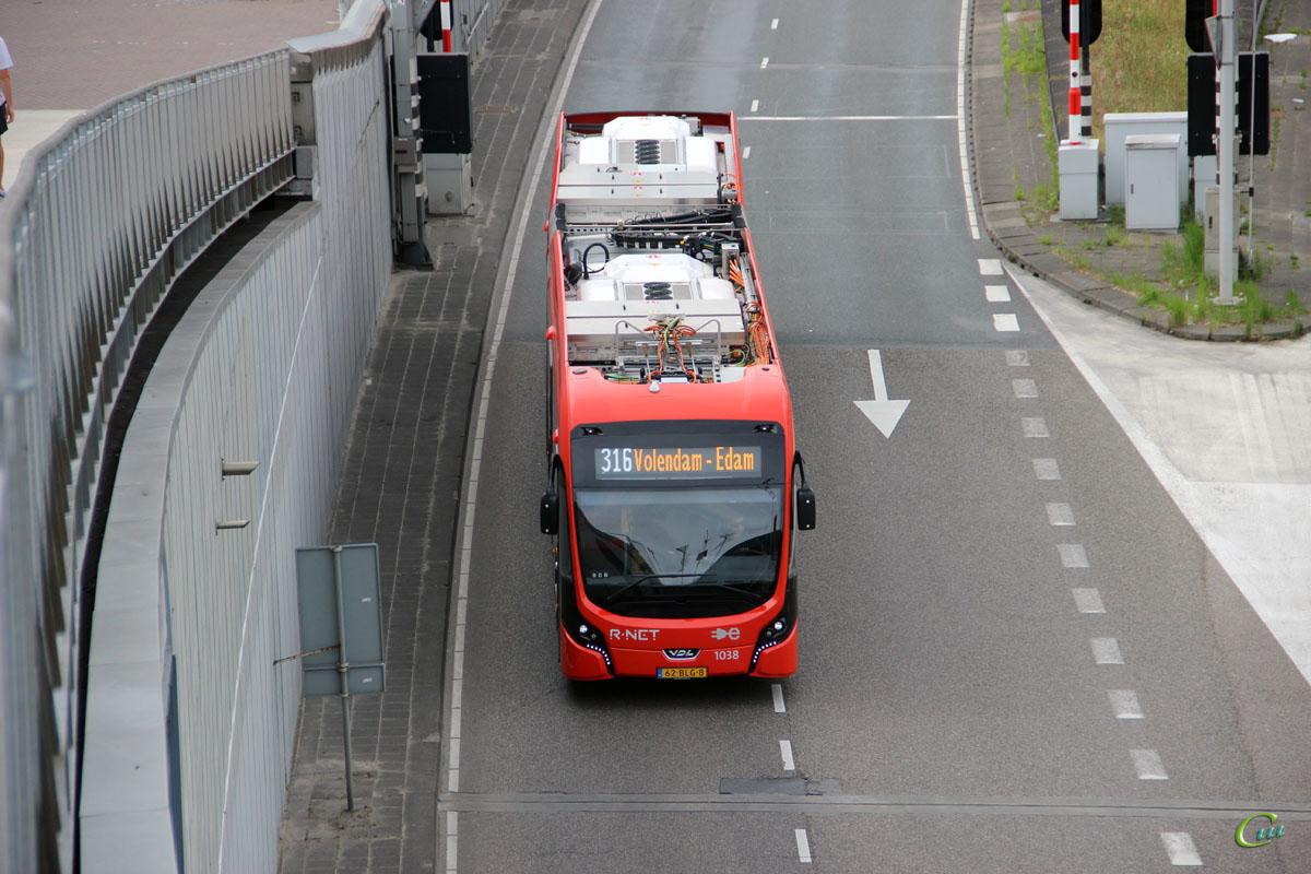 Амстердам. VDL Citea SLFA-181 Electric 62-BLG-8