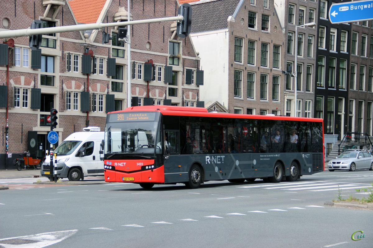 Амстердам. VDL Citea CLE-137 BX-VS-13