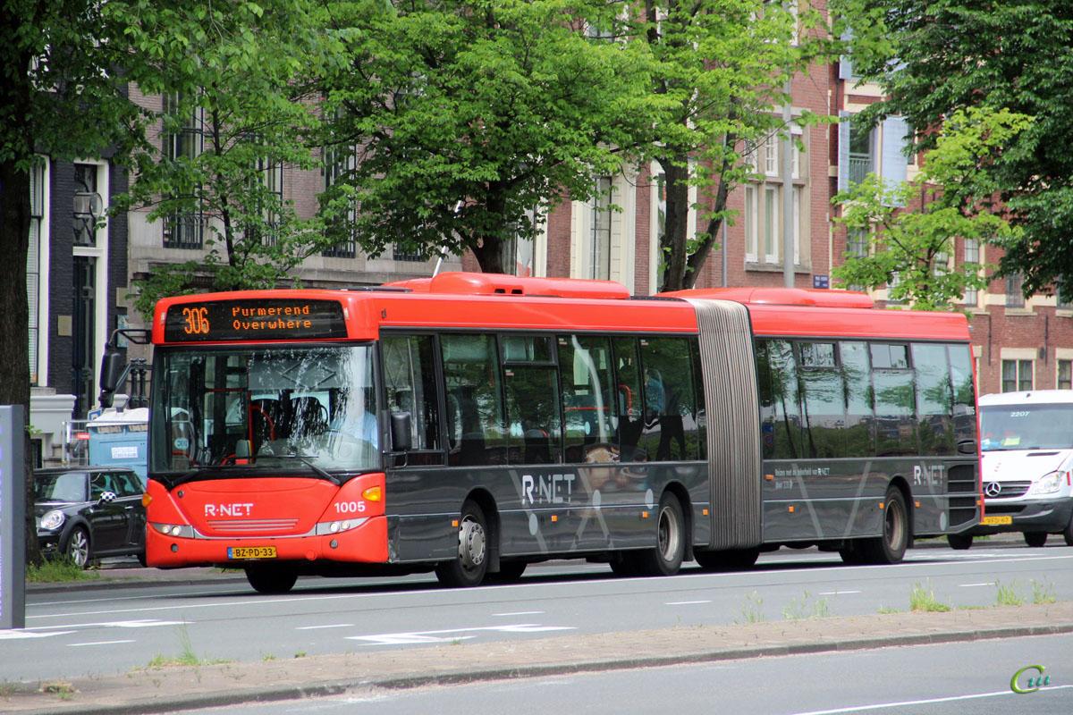 Амстердам. Scania OmniLink CK320UA BZ-PD-33