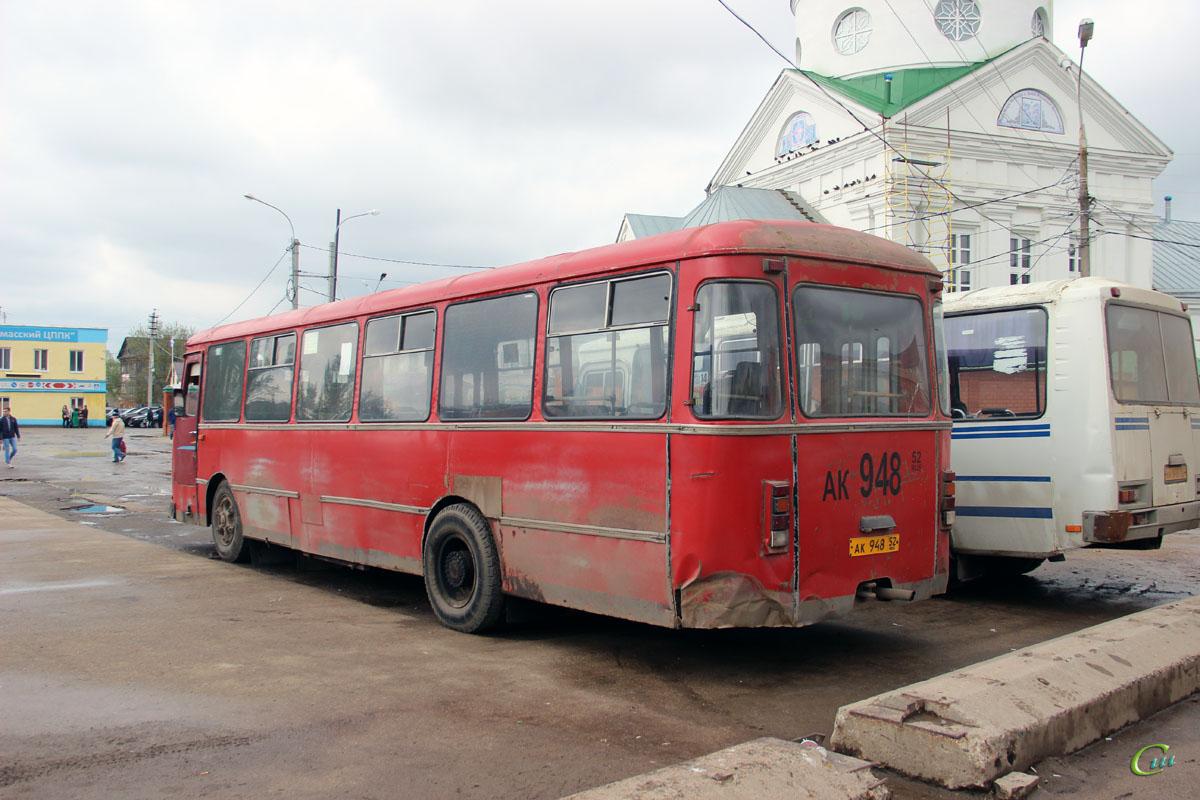 Арзамас. ЛиАЗ-677М ак948