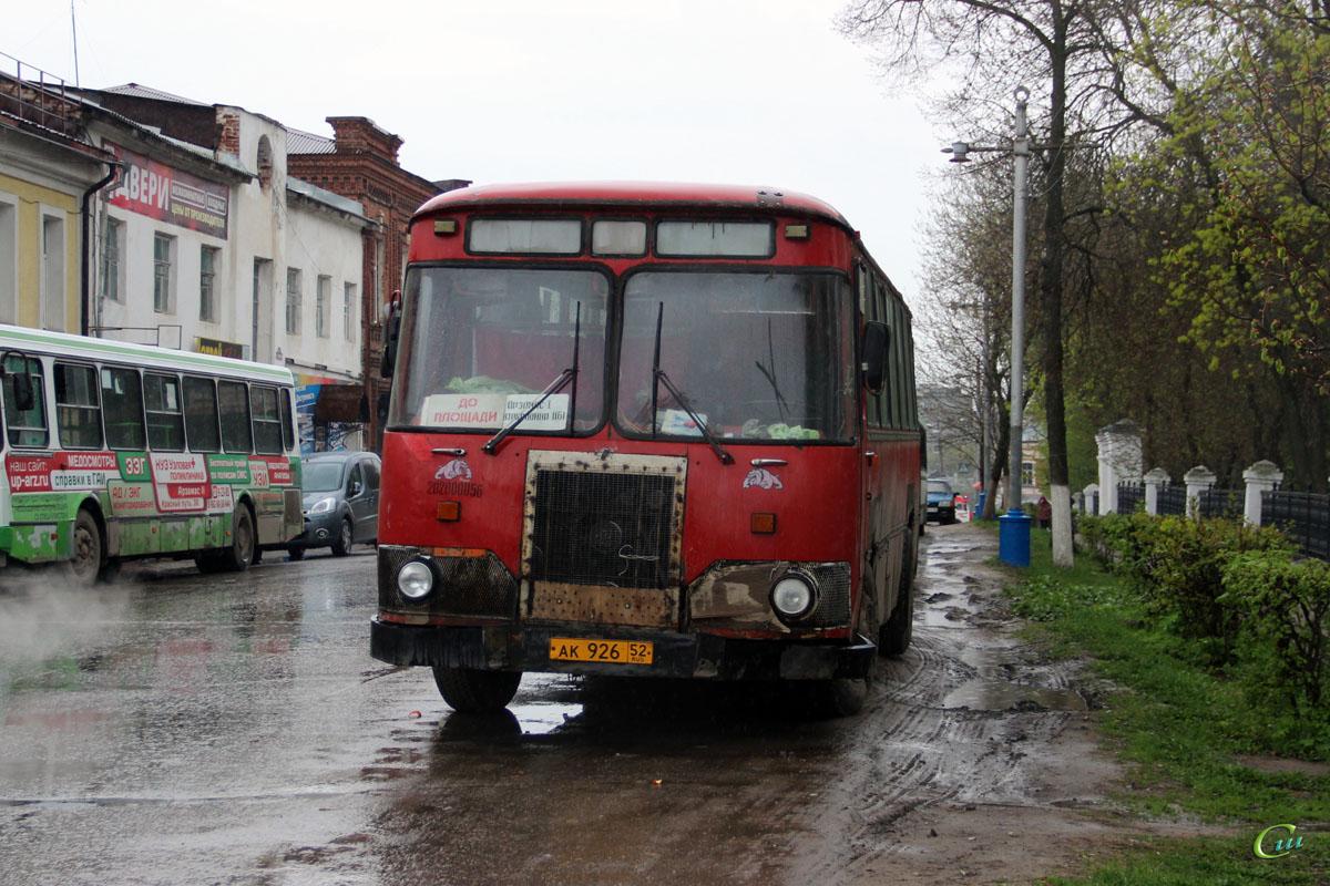 Арзамас. ЛиАЗ-677М ак926