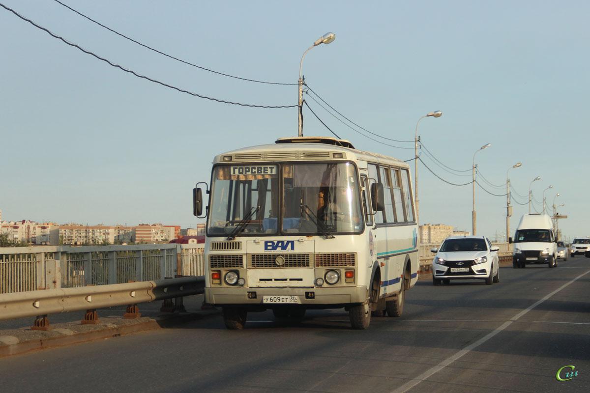 Астрахань. ПАЗ-32053 у609ет