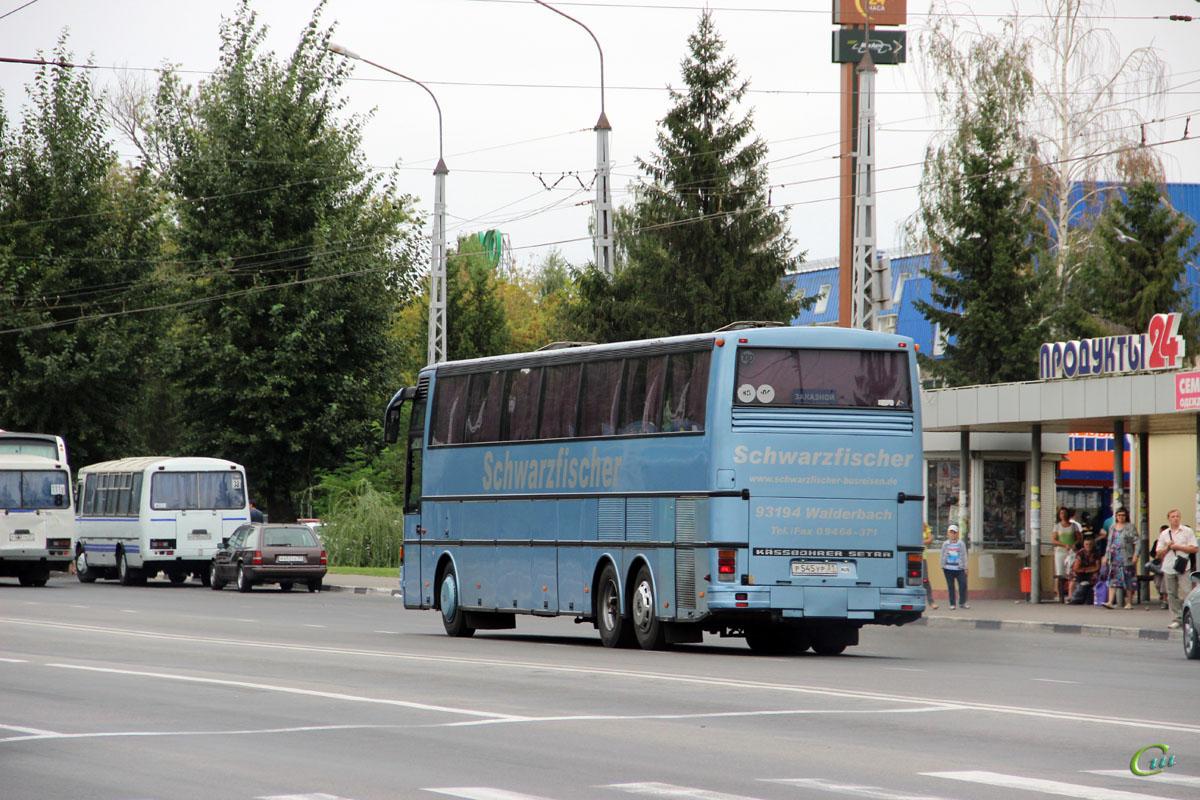 Белгород. Setra S217HDH р545ур, ПАЗ-4234 р010хо